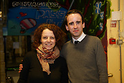 24/02/2018  Anna Lardi Fogarty, Music for Galway, and Greg  McMenamin at a public meeting to discuss the future plans for a School of Music for Galway city, organised by Maoin Cheoil na Gaillimhe at Presentation NS. Photo:Andrew Downes, XPOSURE .