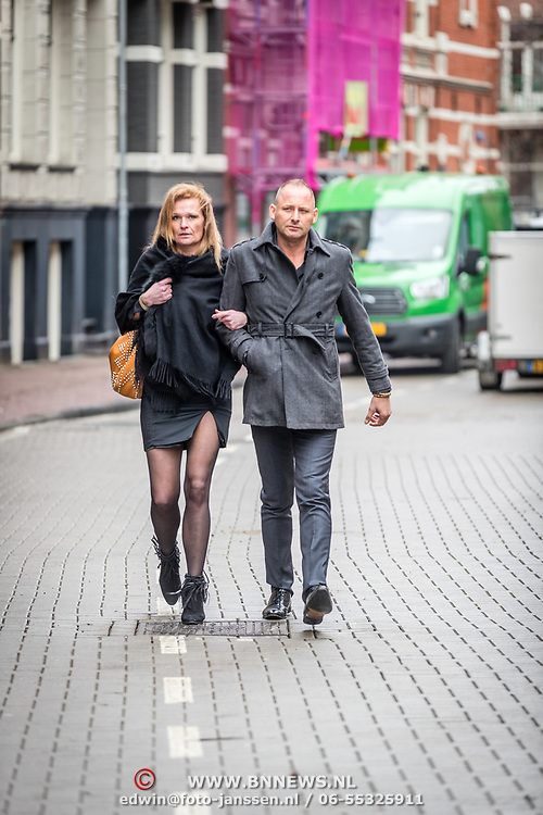 NLD/Amsterdam//20170309 - Herdenkingsdienst Guus Verstraete, ......
