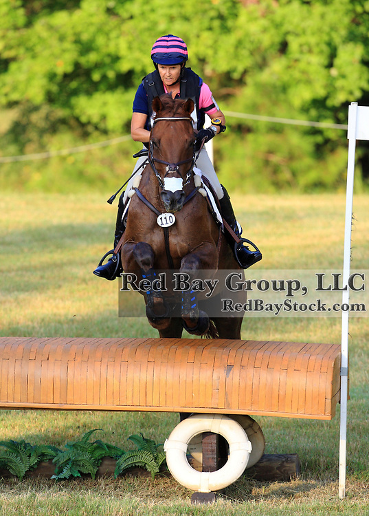 Lynne Partridge and El Cid at the 2011 Poplar Place September Horse Trials in Hamilton, Georgia.