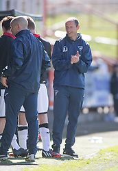 Dunfermline's manager Alan Johnston. <br /> Dunfermline 5 v 1 Cowdenbeath, Scottish League Cup game played today at East End Park.