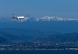 WELLINGTON, June 2, 2019  File photo taken on Sept. 10, 2018 shows an Air New Zealand plane preparing to land on the Wellington Airport in Wellington, New Zealand. An Air New Zealand plane from Palmerston North to Christchurch was forced to return on June 1, 2019 after being struck by lightning. .   The incident took place less than 12 hours after another Air New Zealand flight from Auckland to Tahiti was struck by lightning about 10 minutes after it took off on Friday evening, local media reported. (Credit Image: © Xinhua via ZUMA Wire)