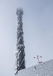 THEMENBILD - Messturm am Sonnblick Observatorium, aufgenommen am 20. November 2018, Rauris, Österreich // measuring tower at the Observatory Sonnblick on 2018/11/20, Rauris, Austria. EXPA Pictures © 2018, PhotoCredit: EXPA/ JFK