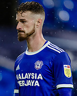 Cardiff City Joe Bennett during the EFL Sky Bet Championship match between Cardiff City and Queens Park Rangers at the Cardiff City Stadium, Cardiff, Wales on 20 January 2021.