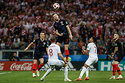 July 11, 2018 - Moscow, Vazio, Russia - Ivan RAKITIC from Croatia during a match between England and Croatia valid for the semi final of the 2018 World Cup, held at the Lujniki Stadium in Moscow, Russia. Croatia wins 2-1. (Credit Image: © Thiago Bernardes/Pacific Press via ZUMA Wire)