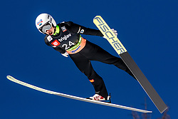 Artti Aigro (EST) during the Trial Round of the Ski Flying Hill Individual Competition at Day 1 of FIS Ski Jumping World Cup Final 2019, on March 21, 2019 in Planica, Slovenia. Photo by Matic Ritonja / Sportida