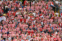 Photo: Chris Ratcliffe.<br /> England v Paraguay. Group B, FIFA World Cup 2006. 10/06/2006.<br /> Paraguay fans.