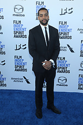 February 8, 2020, Los Angeles, California, United States: 2020 Film Independent Spirit Awards held at Santa Monica Pier..Featuring: Rashaad Ernesto Green.Where: Los Angeles, California, United States.When: 08 Feb 2020.Credit: Faye's VisionCover Images (Credit Image: © Cover Images via ZUMA Press)