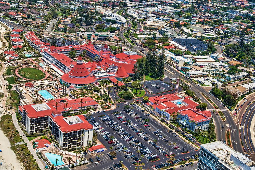 Hotel del Coronado & Orange Avenue
