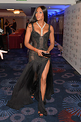 NAOMI CAMPBELL at the Chain of Hope Gala Ball held at The Grosvenor House Hotel, Park Lane, London on 18th November 2016.