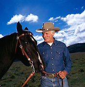 Ted Turner on his Montana buffalo ranch.  The media mogul is the largest landowner in the United States outside of the government.<br /> Ted Turner on his Montana buffalo ranch.  The media mogul is the largest landowner in the United States outside of the government.