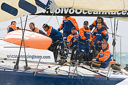 © Sander van der Borch.Alicante, 11 October 2008. Start of the Volvo Ocean Race. Ericsson 4 at the pre-start of the first leg from Alicante  to Capetown..