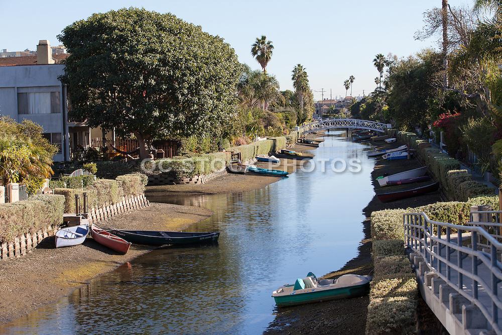 A Canal in Venice Beach California