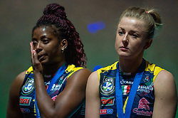 18-05-2019 GER: CEV CL Super Finals Igor Gorgonzola Novara - Imoco Volley Conegliano, Berlin<br /> Igor Gorgonzola Novara take women's title! Novara win 3-1 / Mariam Fatime Sylla #17 of Imoco Volley Conegliano, Joanna Wolosz #14 of Imoco Volley Conegliano
