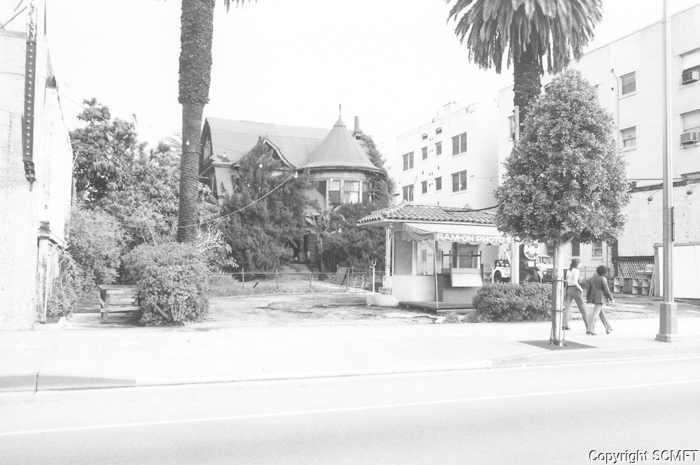 1974 Carrie Janes residence on Hollywood Blvd.