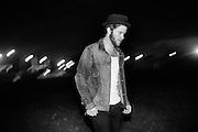 BIRMINGHAM, AL – APRIL 26, 2012: Singer songwriter Matthew Mayfield.
