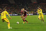 Belgium's Eden Hazard in action<br /> <br /> - European Qualifier - Belgium vs Wales- Heysel Stadium - Brussels - Belgium - 16th November 2014  - Picture David Klein/Sportimage
