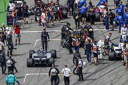 July 22, 2018 - Hockenheim, Germany - Motorsports: FIA Formula One World Championship 2018, Grand Prix of Germany, . Starting Grid, #77 Valtteri Bottas (FIN, Mercedes AMG Petronas Motorsport) (Credit Image: © Hoch Zwei via ZUMA Wire)
