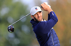 File photo dated 05-04-2019 of File photo dated 28-09-2018 of Team USA's Dustin Johnson