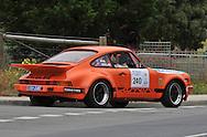 Bill Pye & Grant Geelan .1974 Porsche Carrera RS .Day 1.Targa Wrest Point 2009.Southern Tasmania.31st of January 2009.(C) Joel Strickland Photographics.