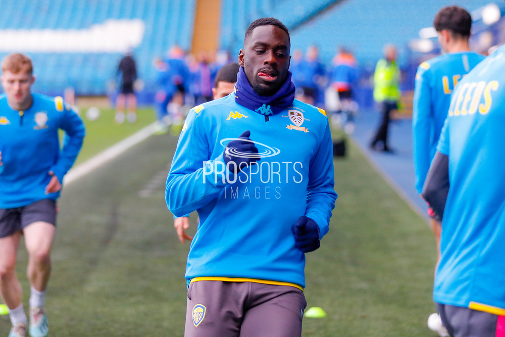 Leeds United forward Jean Kevin Augustin (29), on loan from Red Bull Leipzig,  during the U23 Professional Development League match between U23 Sheffield Wednesday and U23 Leeds United at Hillsborough, Sheffield, England on 3 February 2020.