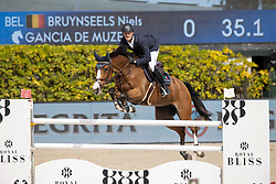 Bruynseels Niels, BEL, Gancia de Muze<br /> Longines FEI Jumping Nations Cup Final<br /> Barcelona 2021<br /> © Hippo Foto - Dirk Caremans<br />  01/10/2021