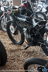 Doug Wothke's 1916 Indian at the Cycle Source bike show at the Broken Spoke Saloon during Daytona Beach Bike Week. FL. USA. Tuesday, March 14, 2017. Photography ©2017 Michael Lichter.