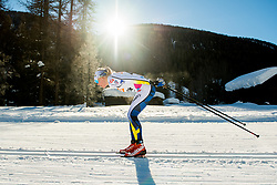 January 31, 2018 - Goms, SWITZERLAND - 180131 Lisa Vinsa of Sweden competes in the women's 10km classic technique interval start during the FIS U23 Cross-Country World Ski Championships on January 31, 2018 in Obergoms..Photo: Vegard Wivestad GrÂ¿tt / BILDBYRN / kod VG / 170090 (Credit Image: © Vegard Wivestad Gr¯Tt/Bildbyran via ZUMA Press)