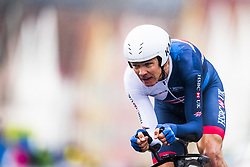 September 20, 2017 - Bergen, NORWAY - 170920 Christopher Froome of Great Britain competes during the Men Elite Individual Time Trial on September 20, 2017 in Bergen..Photo: Jon Olav Nesvold / BILDBYRÃ…N / kod JE / 160023 (Credit Image: © Jon Olav Nesvold/Bildbyran via ZUMA Wire)