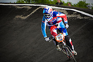 #90 (SPRENGERS Dana) NED at the UCI BMX Supercross World Cup in Papendal, Netherlands.