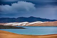 Mongolie, province de Zavkhan, lac Noir // Mongolia, Zavkhan province, Khar Nuur lake