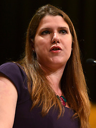 © Licensed to London News Pictures. FILE PICTURE DATED 26/09/2012. Brighton, UK. Jo Swinson MP delivers her speech at the Liberal Democrat Conference at the Brighton Centre in Brighton today 25th September 2012. Jo Swinson is to face questioning over allegations that she failed to act on information about the inappropriate sexual behaviour of a senior Liberal Democrat official while she was spokesperson for women and equality. Photo credit : Stephen Simpson/LNP