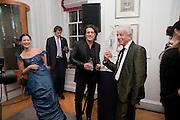 OLGA BALAKEETS; STEPHEN WEBSTER; NICKY HASLAM, Georgina Chapman and Stephen Webster celebrate her guest designer collection for Garrard. Albermarle St. London. 4 November 2009