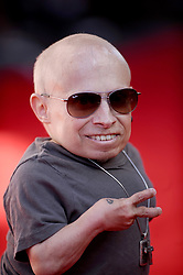 File photo - Verne Troyer arrives at the premiere of Walt Disney Pictures' 'The Lone Ranger' at Disney California Adventure Park in Los Angeles, CA, USA, June 22, 2013. Verne Troyer, who is best known for playing Mini-Me in the Austin Powers films, has died at the age of 49. Troyer, who was 81cm tall, also played Griphook in the first Harry Potter film. Photo by Lionel Hahn/ABACAPRESS.COM