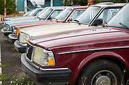 Volvo 240 till försäljning i Portland, Oregon, USA<br /> Foto: Christina Sjögren