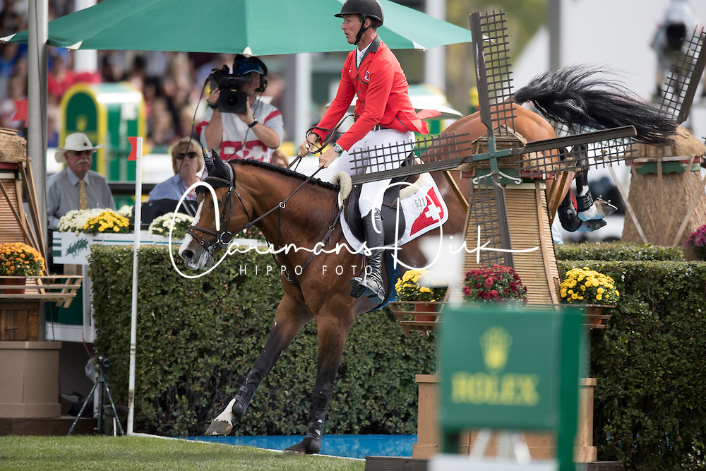 Jufer Alain, (SUI), Wiveau M<br /> CSIO 5* Spruce Meadows Masters - Calgary 2016<br /> © Hippo Foto - Dirk Caremans<br /> 10/09/16