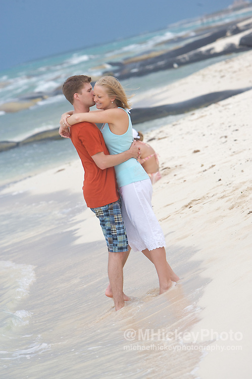 Wedding photography of Sarah Hobbs and Tony Buck in Cancun.<br /> By Michael Hickey, wedding photographer
