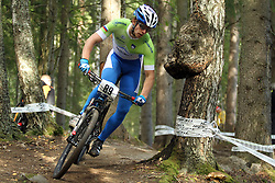 Kevin Berginc of Slovenia at UCI MTB and Trials World Championships 2014 in Hafjell, 5. september 2014<br /> Photo by Grega Stopar / Sportida