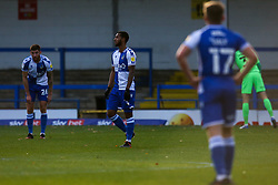 Josh Grant of Bristol Rovers cuts a dejected figure - Mandatory by-line: Robbie Stephenson/JMP - 31/10/2020 - FOOTBALL - Crown Oil Arena - Rochdale, England - Rochdale v Bristol Rovers - Sky Bet League One