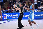DESCRIZIONE : Trento Lega A 2014-2015 Dolomiti Energia Trento Vanoli Cremona<br /> GIOCATORE : arbitro<br /> CATEGORIA : arbitro<br /> SQUADRA : arbitro<br /> EVENTO : Campionato Lega A 2014-2015<br /> GARA : Dolomiti Energia Trento Vanoli Cremona<br /> DATA : 23/11/2014<br /> SPORT : Pallacanestro<br /> AUTORE : Agenzia Ciamillo-Castoria/GiulioCiamillo<br /> GALLERIA : Lega Basket A 2014-2015<br /> FOTONOTIZIA : Trento Lega A 2014-2015 Dolomiti Energia Trento Vanoli Cremona<br /> PREDEFINITA :