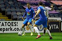 Richie Bennett. Stockport County 2-1 Halifax Town. Vanarama National League. 061020