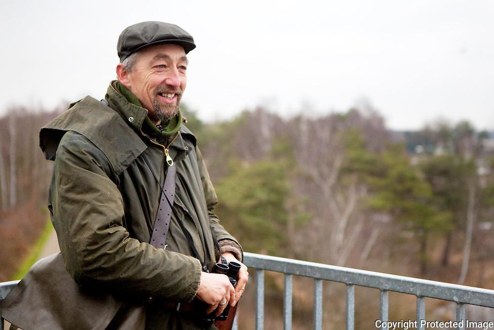 372630-exotische ganzen vormen bedreiging voor natuurgebied-conservator Marc Smets op uitkijktoren-turnhout