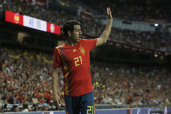 Spain national team player Daniel Parejo during UEFA EURO 2020 Qualifier match between Spain and Sweden at Santiago Bernabeu Stadium in Madrid, Spain. June 10, 2019. Photo by A. Perez Meca/Alterphotos/ABACAPRESS.COM