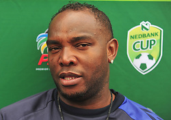 Cape Town--180329 Cape Town City coach Bennie McCarthy talking about his approach for their Nedbank Cup game against Sundowns on sunday  .Photographer;Phando Jikelo/African News Agency/ANA