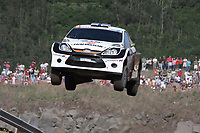 MOTORSPORT - INTERCONTINENTAL RALLY CHALLENGE 2010 - SATA RALLY ACORES - PONTA DELGADA (POR) - 15 TO 14/07/2010 - PHOTO : ANDRE LAVADINHO / DPPI - <br /> Andreas Mikkelsen (NOR) / Ola Floene (NOR) - Ford Fiesta S2000 - ACTION