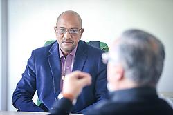 Presidente do STICC - Sindicato dos Trabalhadores nas Indústrias da Construção Civil, Gelson Santana. FOTO: Jefferson Bernardes/ Agência Preview