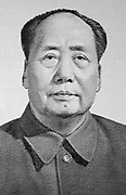 Mao Zedong (1893-1976), founding father of the People's Republic of China from its establishment in 1949.  Mao remains a controversial figure to this day, with a contentious legacy that is subject to continuing revision and fierce debate.