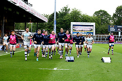 Yorkshire Carnegie warm up - Mandatory by-line: Robbie Stephenson/JMP - 17/05/2017 - RUGBY - Headingley Carnegie Stadium - Leeds, England - Yorkshire Carnegie v London Irish - Greene King IPA Championship Final 1st Leg