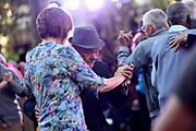 20181027/ Nicolas Celaya - adhocFOTOS/ URUGUAY/ MONTEVIDEO/ PLAZA CONSTITUCION/ Festival Montevideo Tango en plaza Constitucion, Montevideo.<br /> En la foto: Festival Montevideo Tango en plaza Constitucion, Montevideo. Foto: Nicol·s Celaya /adhocFOTOS