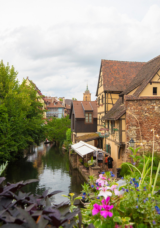 Colmar, France canal