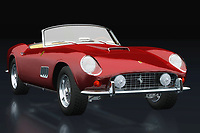 Do you already see yourself driving around in this 1960 Ferrari 250 GT Spyder California along winding roads in a vast landscape or strolling with this Ferrari 250 GT Spyder California on boulevards?